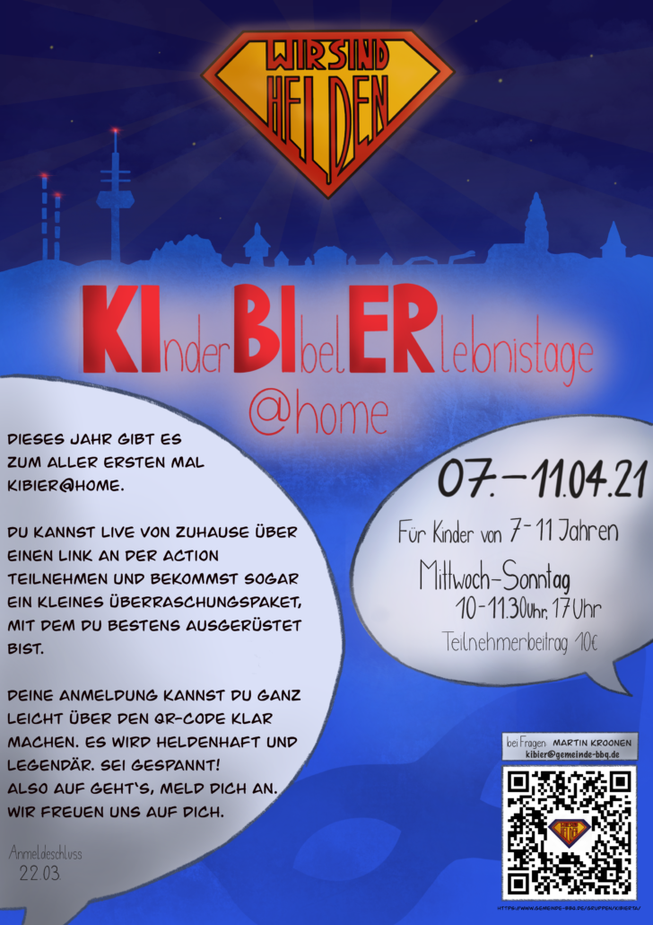 Flyer KiBiEr@Home